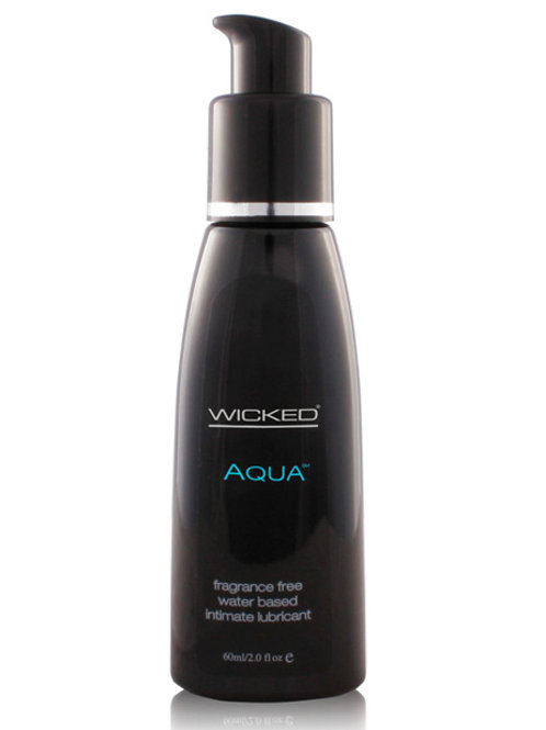 Wicked Sensual Care Aqua Waterbased Lubricant
