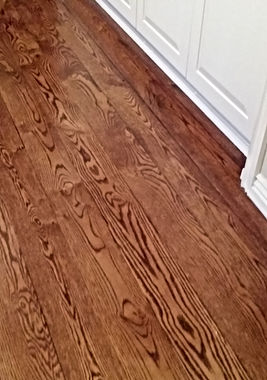 Laminate or solid wood flooring