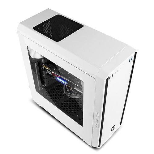 Semitorre ATX NOX HUMMER S/fuente USB Blanc(NXHUMMERZXZ