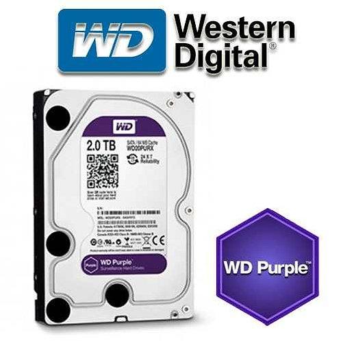"""Disco Duro Western Digital Purple 2Tb 3.5"""""""