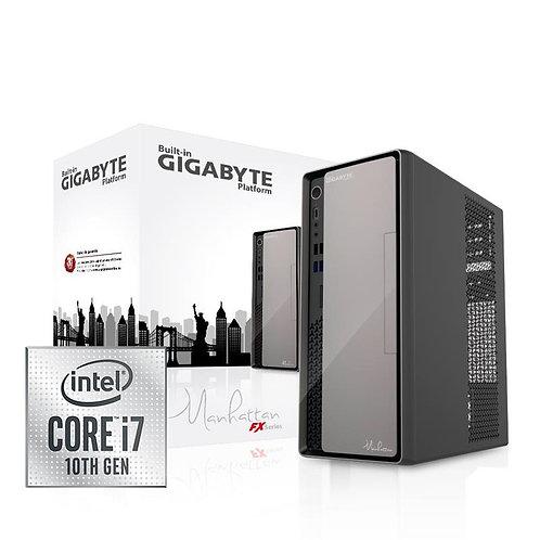 ORDENADOR PB GIGABYTE MANHATTAN I7 10700/8GB/SSD480G