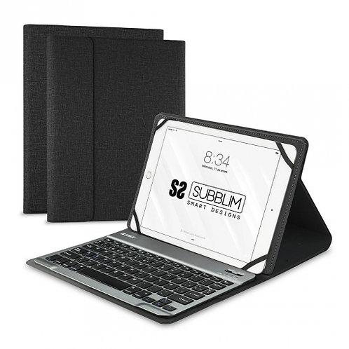 """Funda con teclado SUBBLIM 10.1"""" Bluetooth"""