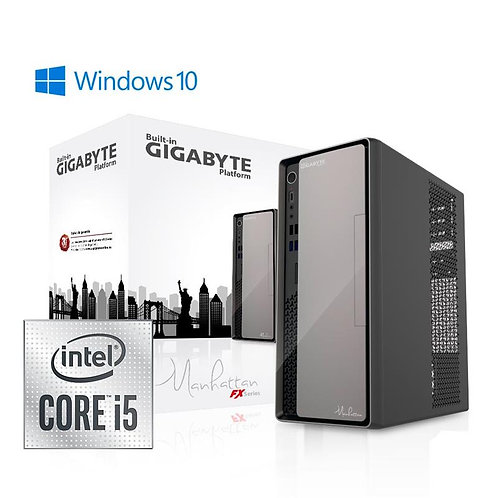 ORDENADOR PB GIGABYTE MANHATTAN I5 10400/8GB/SSD480/W10PRO