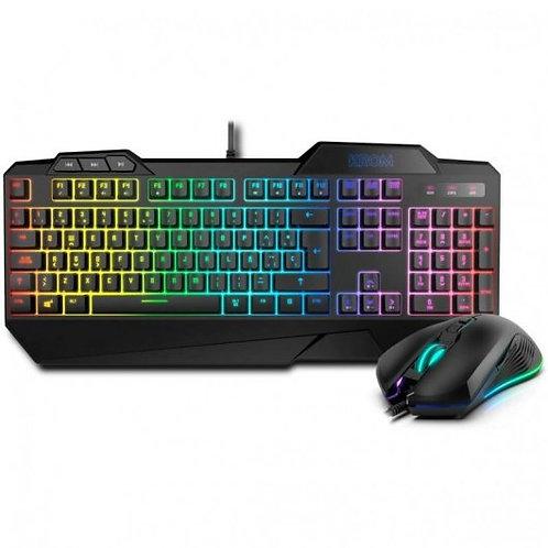 Krom Krusher Teclado Gaming Híbrido RGB + Ratón