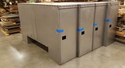 Custom utility truck boxes