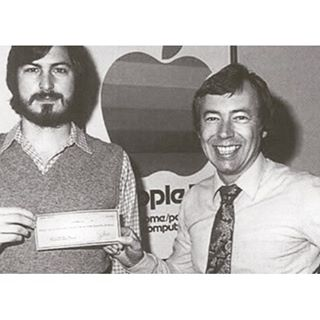 First angel investor of APPLE!!!!! Mike Markkula, was a  director of Intel Corporation and became th