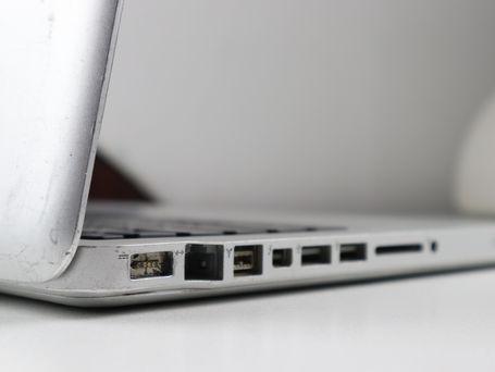 Broken Apple Laptop (Before)
