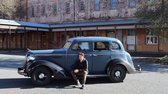 Restored 1935 Dodge