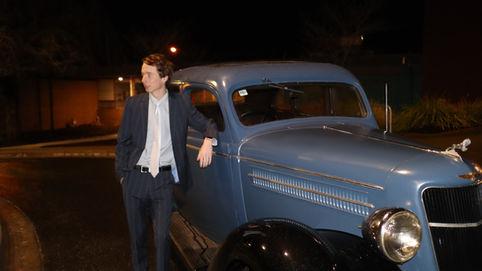1935 Dodge Night Shot