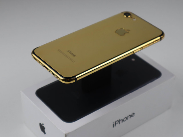 Custom Gold Plated Phone