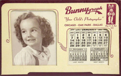1951 Promotional Calendar