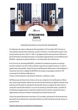 SINFONIA DEI SENSI A LUGANO DA MUSICDOOR