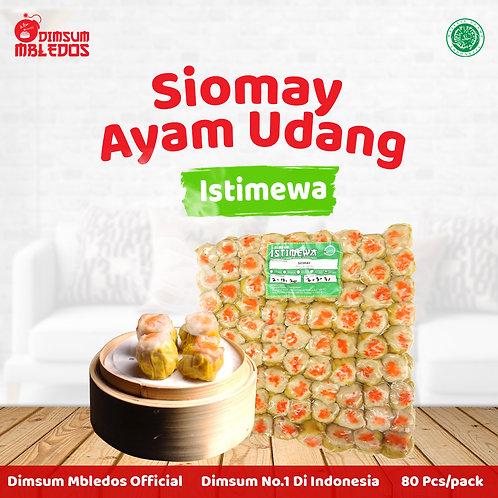Siomay Ayam Udang Istimewa 80 Pcs/Pack