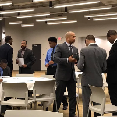 Networking with leaders