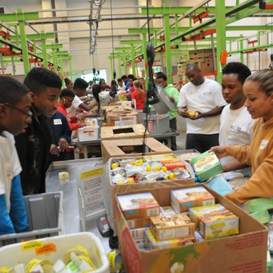 Houston Food Bank Volunteer