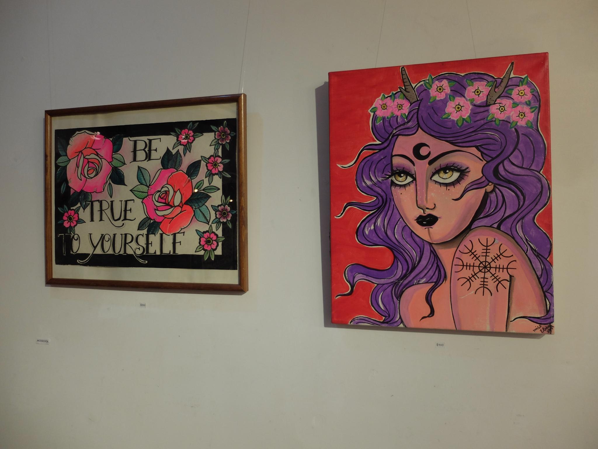 at MF gallery, Brooklyn, NY