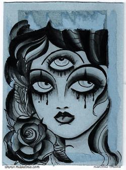 art by missElvia Tattoo, SI, NY