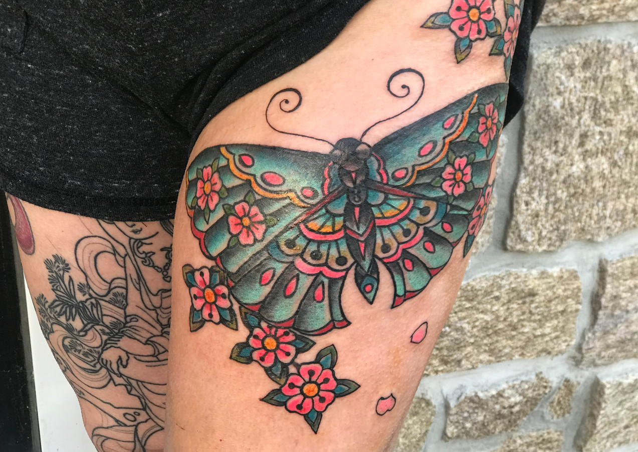 tattoo by missElvia, SI, NY