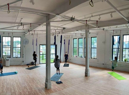 Aerial yoga studio first in region to reopen in Phase 3