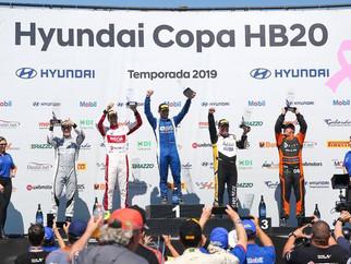 Pedro Cardoso vence em estreia na Copa HB20