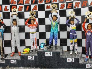 Vinícius Tessaro conquistou dupla vitória na estreia em sua nova categoria