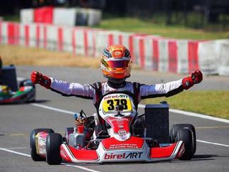 Piloto da Kiwi Motorsport na F4 Americana segue se destacando nas competições de kart em 2019 e cheg