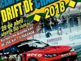 Campeonato de Drift do DF no Brasília Kart (Brasília sport race).