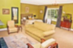 Green Room honeymoon suite at Lastingham
