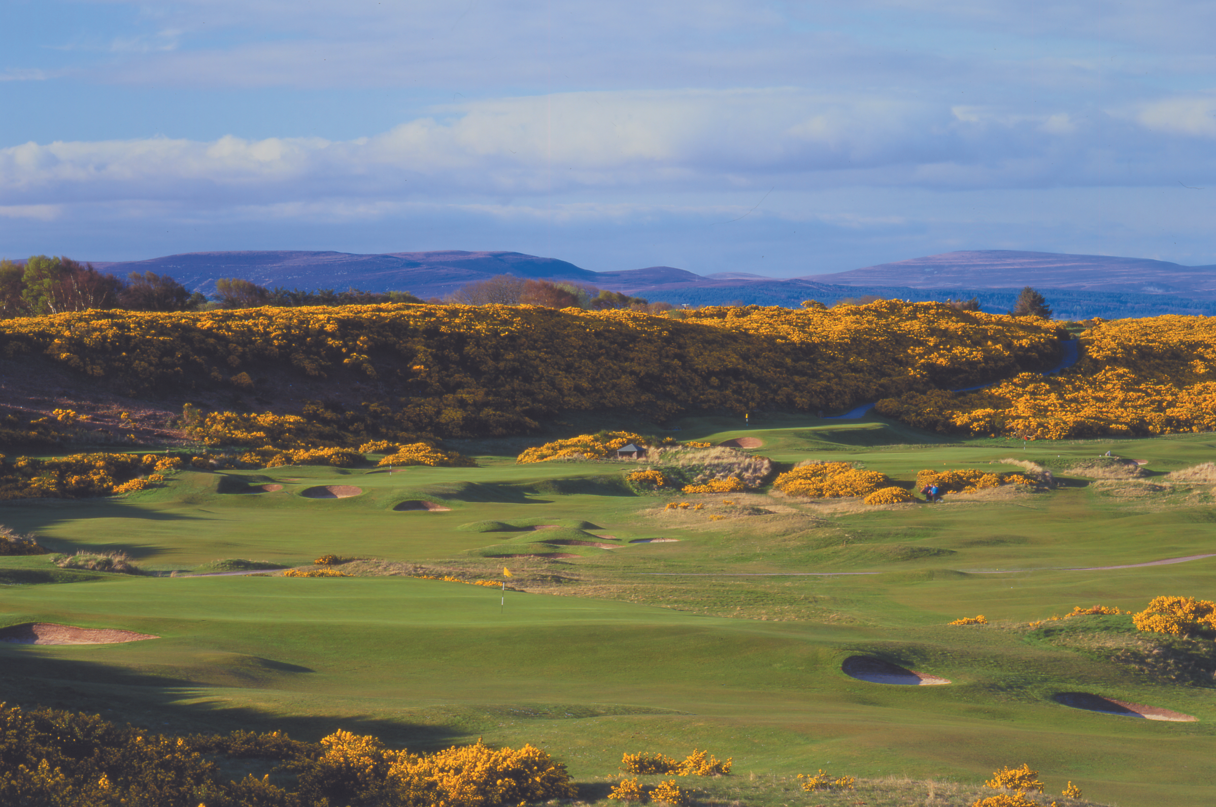 07_4th green and 5th - Royal Dornoch Cha
