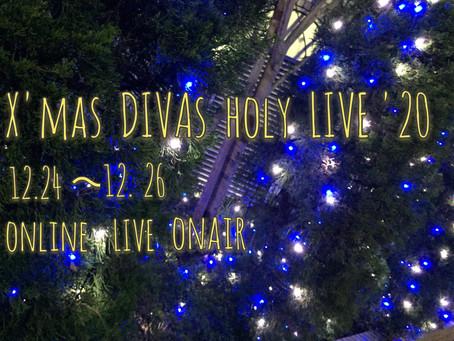 X'mas DIVAs holy LIVE