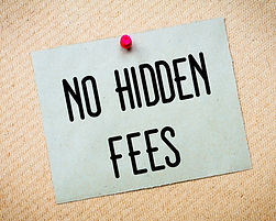 Image states Eatern Bin Hire have no hidden fees