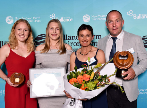 Tirau farm announced Regional Supreme Winner of Waikato Ballance Farm Environment Awards