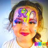 My Little Pony Face Paint design