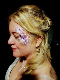 Bridal Face Painting