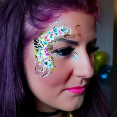 flowery eye design - wedding party