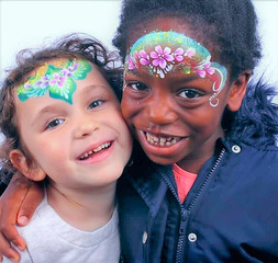 Face painting summer party