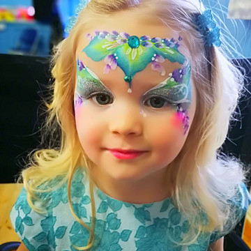 Pretty Butterfly Face paint