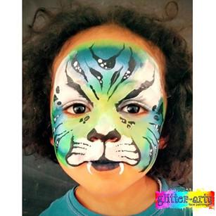 Blue Tiger Boys face Paint