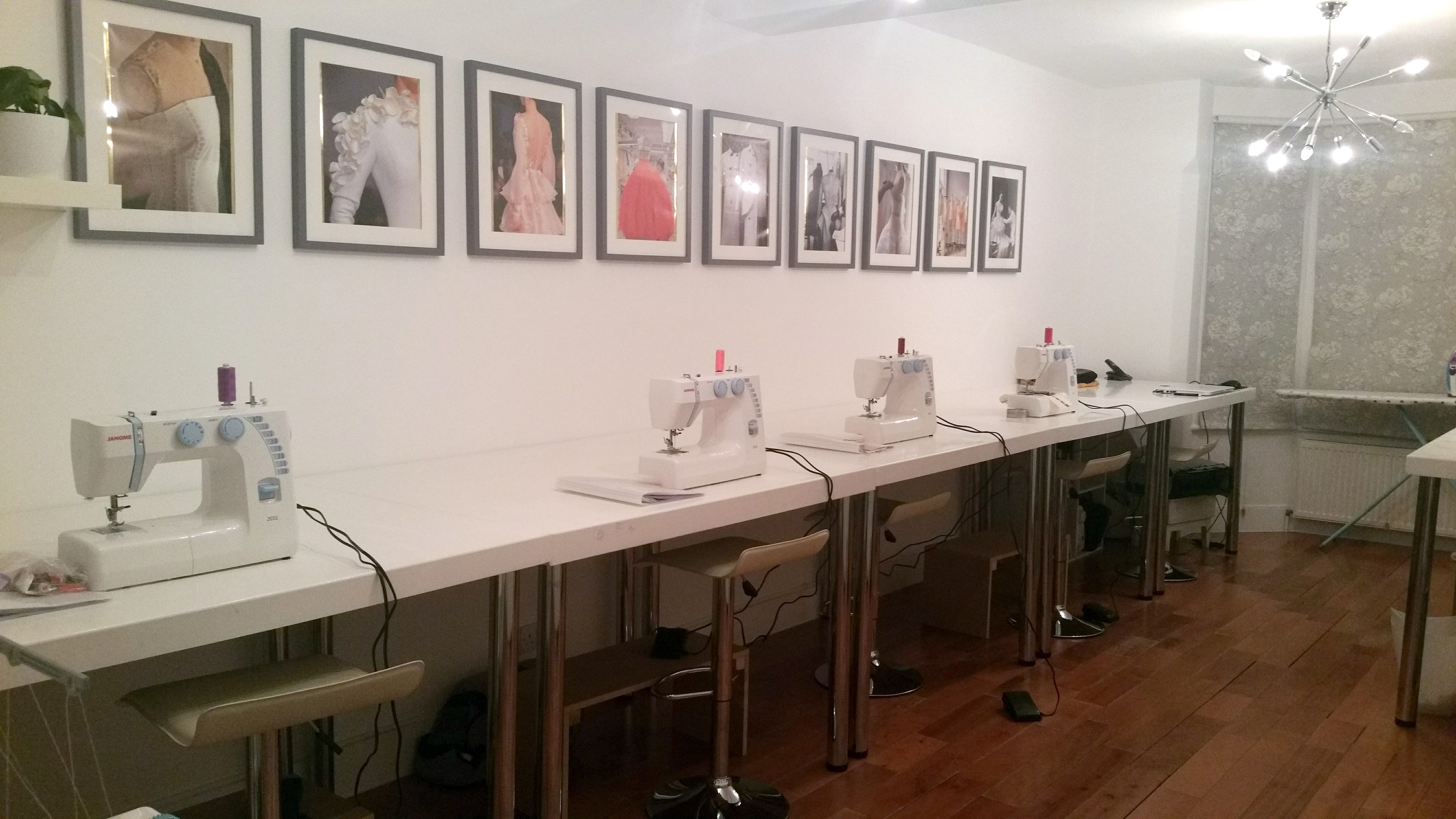 the fashion loop studio prepared for class