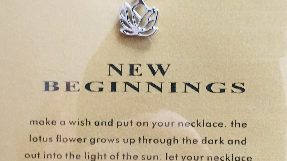 Click Here to Order a New Beginnings Necklace