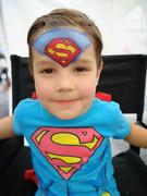 Boys Superman Face Paint