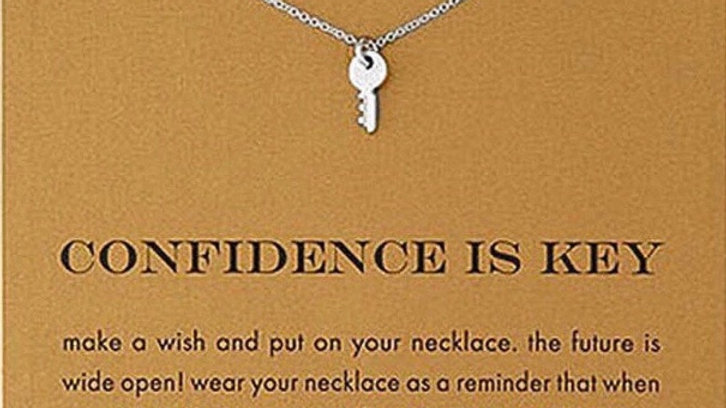 Click Here to Order a Confidence is Key Necklace