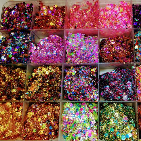 Festival Glitter paletter