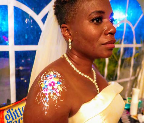 Bridal body art -