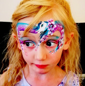 Uncorn face painting