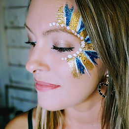 Glitter Face Art for adults