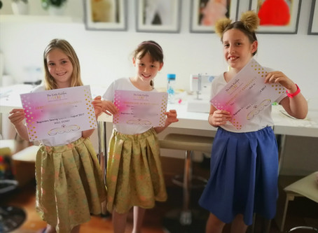 Benefits of Children Learning to Sew