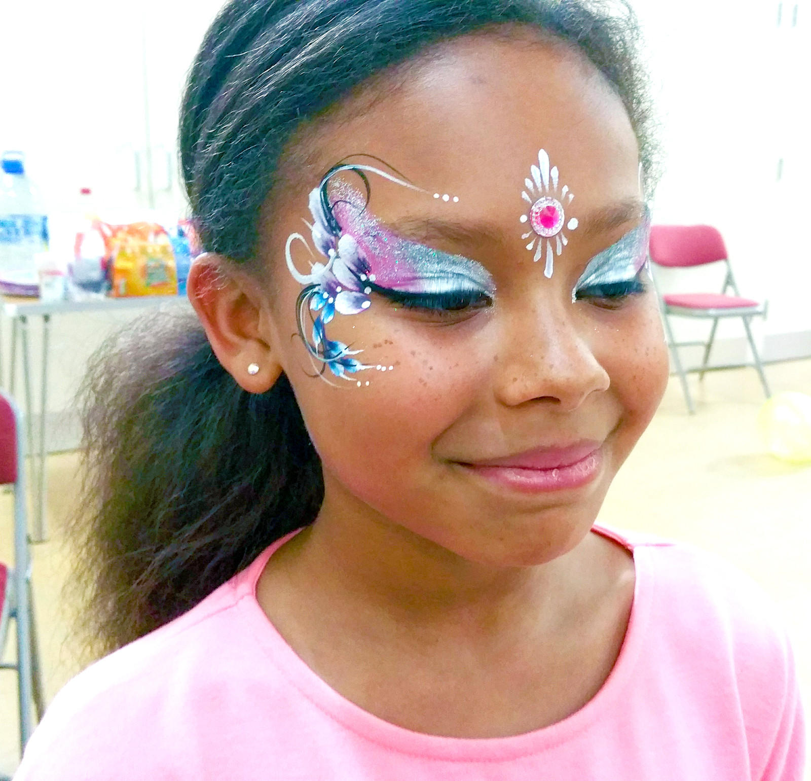 Arty Face Painting