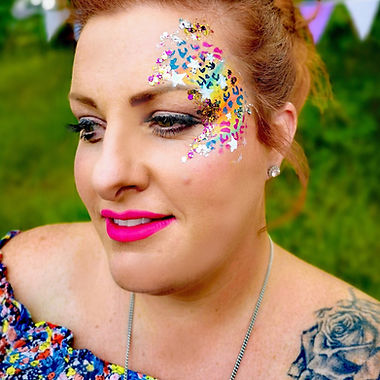 hen party glam face painting