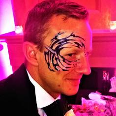 wedding mens eye design